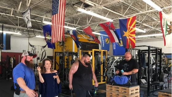 Plano Podcast at Metroflex Gym Plano